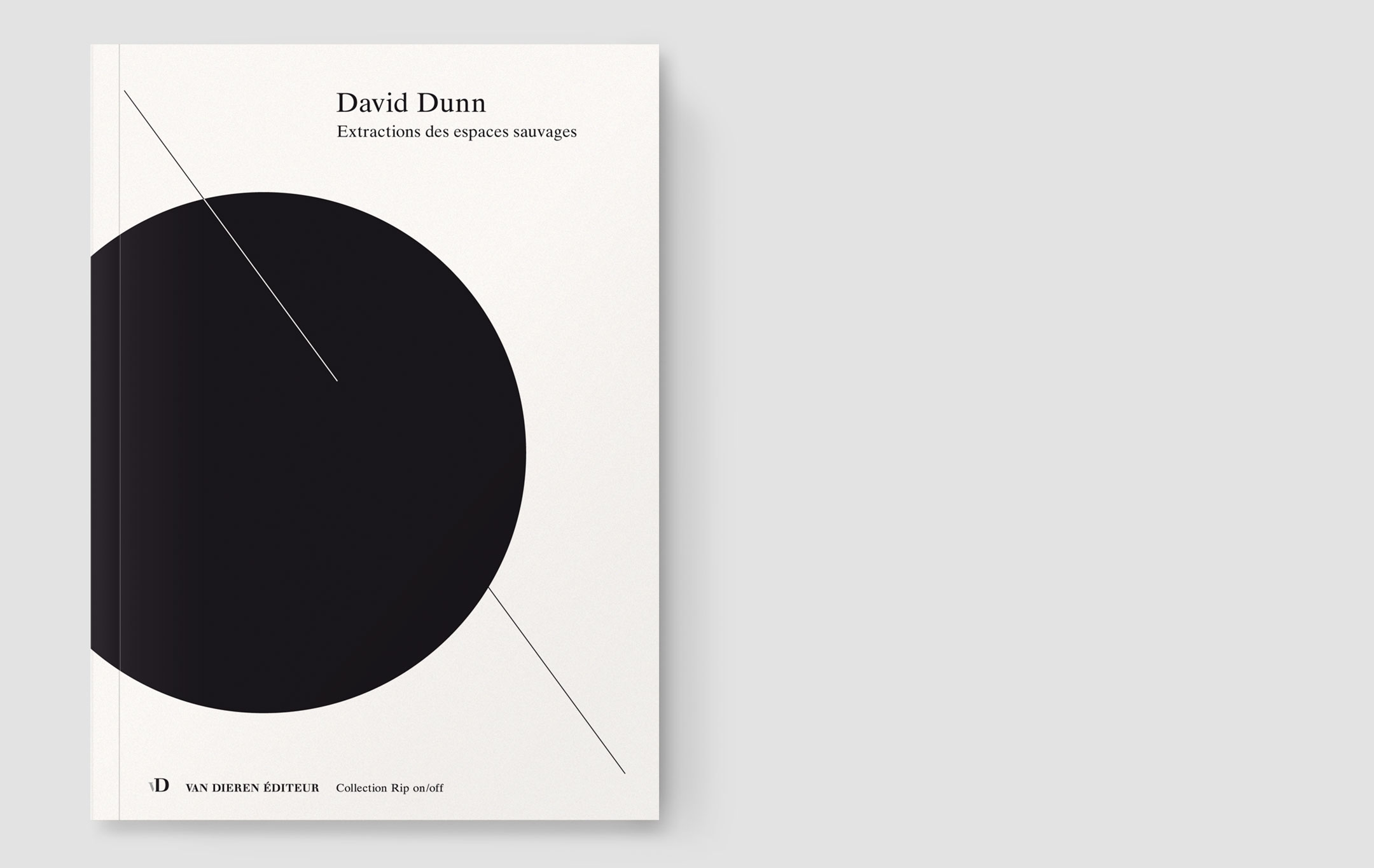David Dunn, Extractions des espaces sauvages