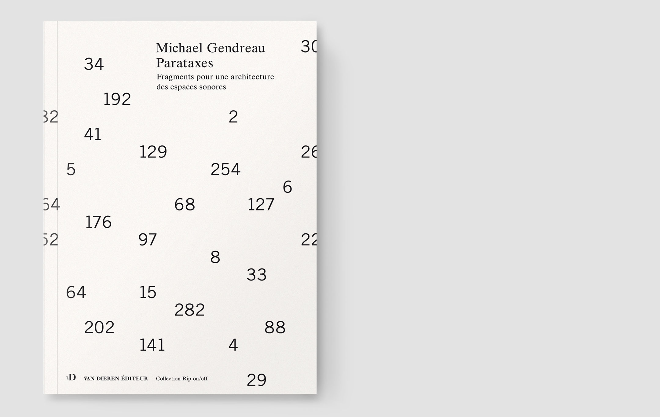 Michael Gendreau, Parataxes